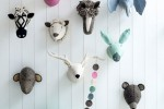 dieren aan de muur