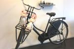 Bakkers fiets mat zwart
